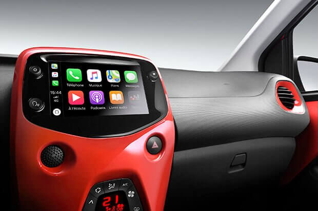 Citroën C1 Apple Airplay