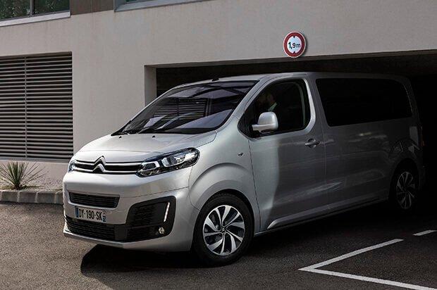 Citroën Jumpy Front