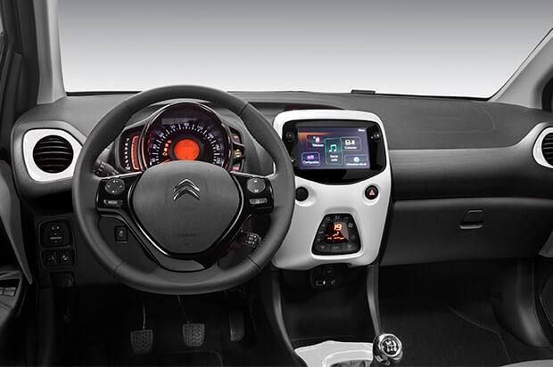 Dashboard Citroën C1
