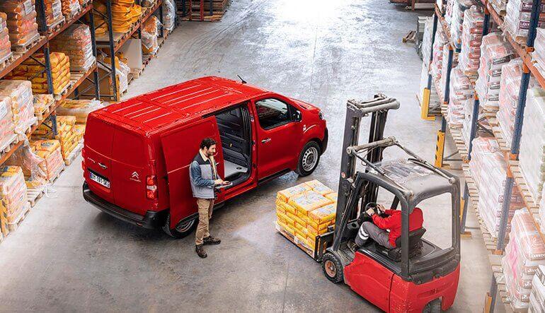 Laadruimte Citroën Jumpy
