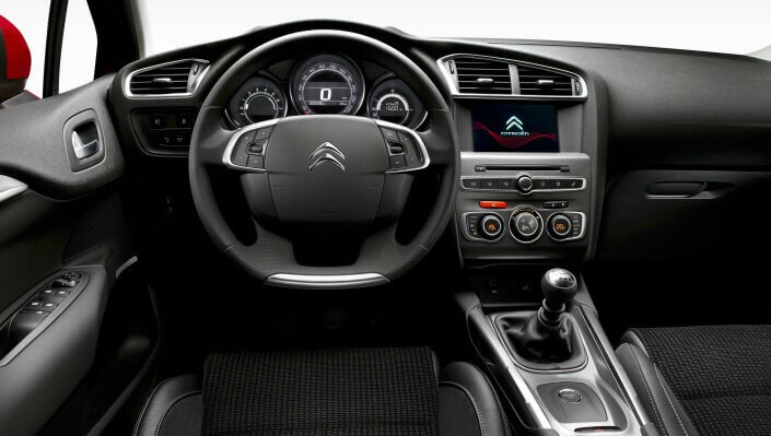 citroen c4 c4 interieur
