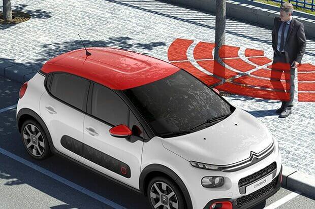 keyless entry Citroën C3