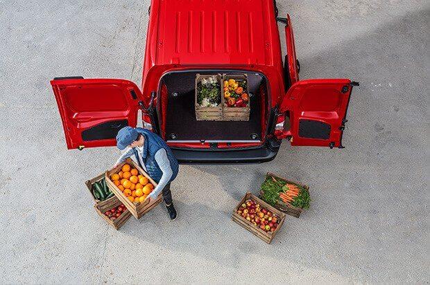 Laadruimte Citroën Berlingo Van