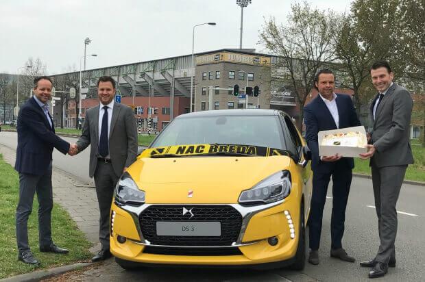Van Beek autosponsor NAC Breda