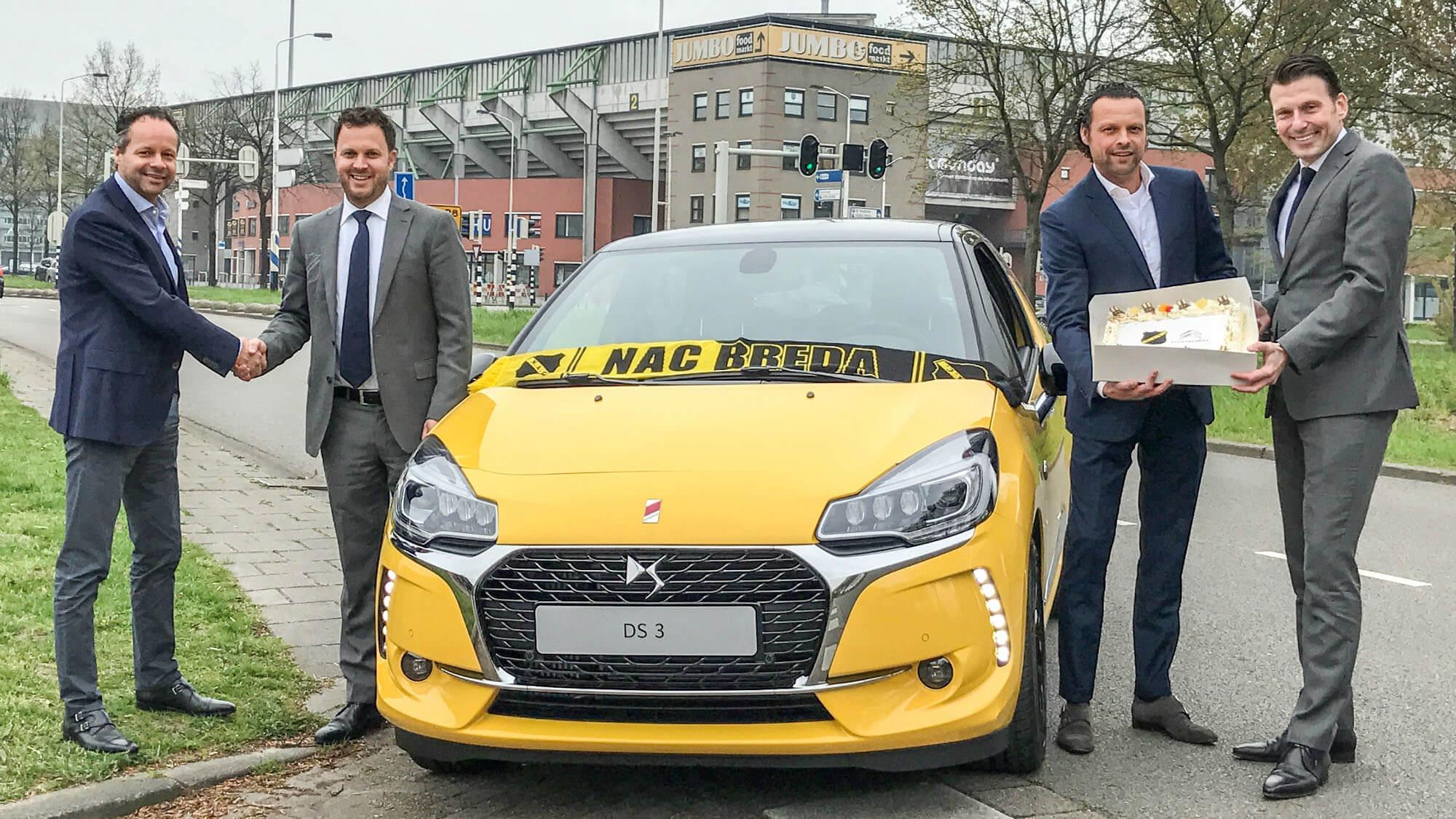 Citroën Van Beek nieuwe autopartner NAC Breda