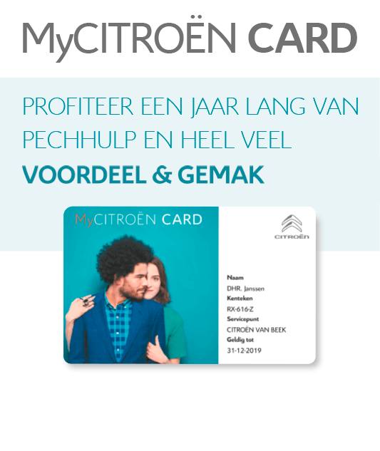 My Citroën Card Mobile