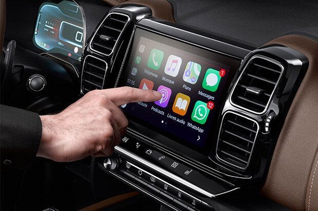 C5 Aircross Apple Carplay