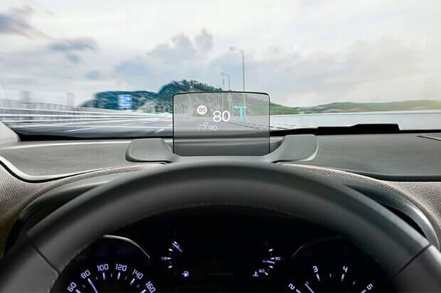 Citroën head up display