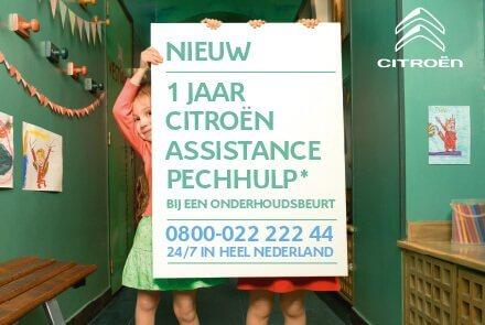 Assistance bij onderhoud Citroën